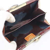 クロコ がま口財布